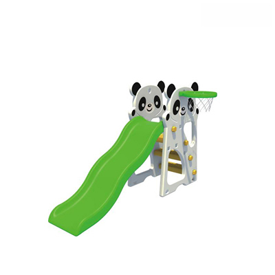 China professional outdoor plastic swing and slide manufacture DL-05602