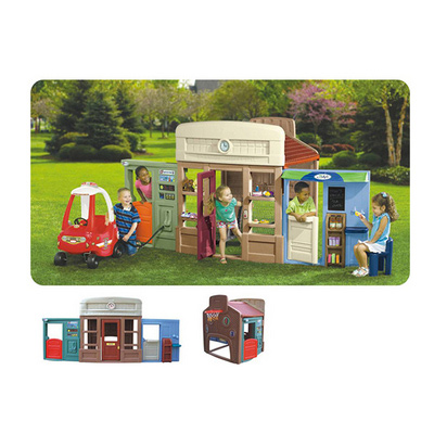 Top Quality Smart Garden Plastic Play House for Kids