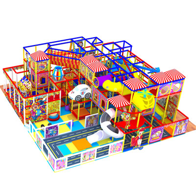 Adventure modular kids soft play zone commercial circus theme indoor playground DLID265