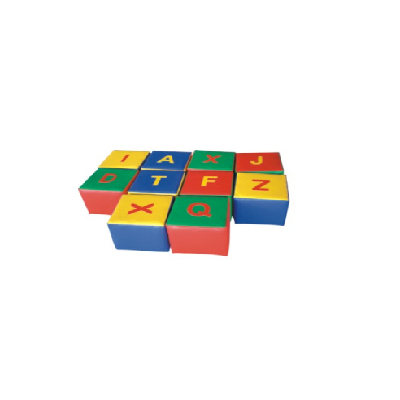 Alphabet soft play stools DL-S028