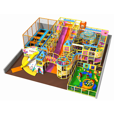 CE Standard Candy themed Indoor Kids Playground DLID511