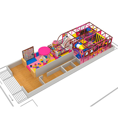 Children Indoor Playground for Candy Series with Ball Pool DLID268