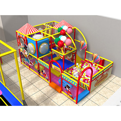 Circus troupe theme colorful indoor playground equipment DLID0321