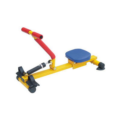 Commercial Monorail Rower Kids Fitness Equipment