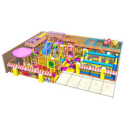 Dreamland Customized Candy Theme Indoor Playground DL-QL082