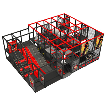 Durable new commercial ninja playground indoor set DL07114