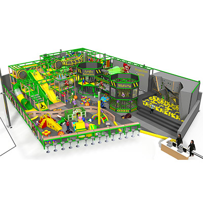 Fantastic commercial children indoor playground DLQL041