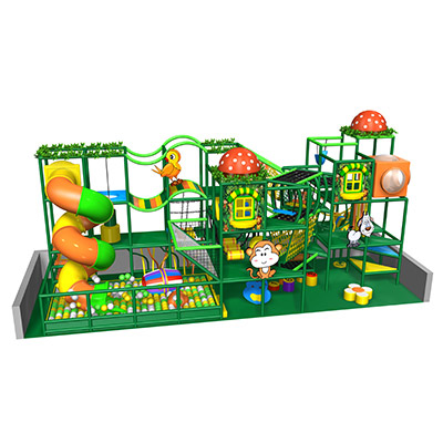 Indoor soft modular playground equipment DLK005