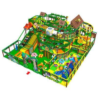 New arrival jungle theme indoor playground soft play equipment for sale DL002