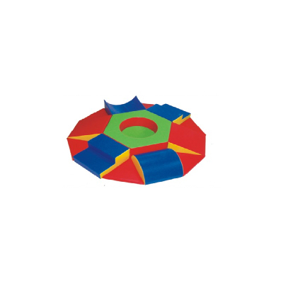 Popular safe kids round soft play DL-S002