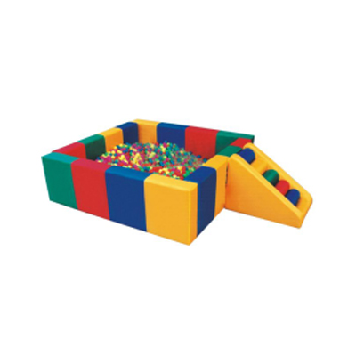 Popular safe kids soft play with ball pit DL-S003