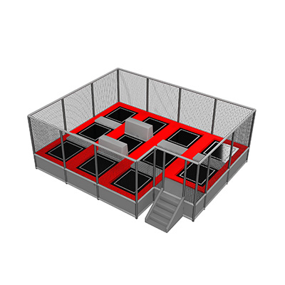 Small Free Jumping Indoor Trampoline park DL160108
