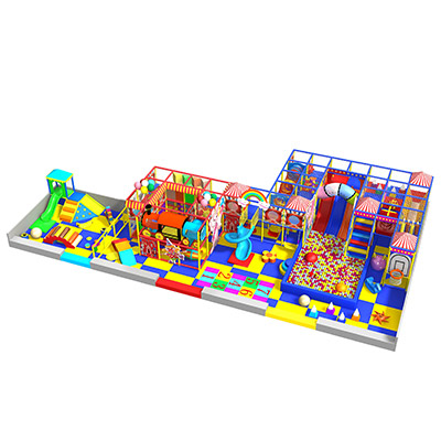Themed soft indoor playground ocean series DL009