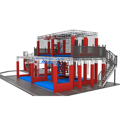 Two Storied Warrior Course Adult Indoor Obstacles For Sale DL11A